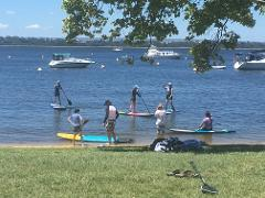 Group SUP Guided Commentary Tour